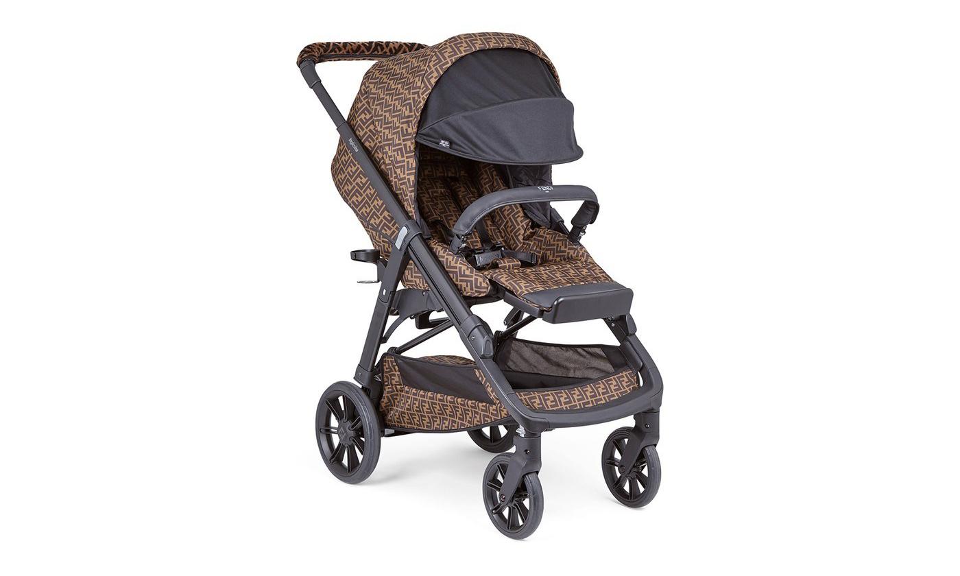 售价 2,000 欧元,「Storm」同款 Fendi 婴儿车上架