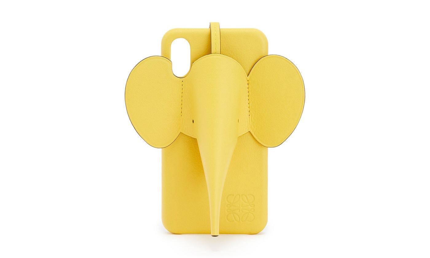 逗趣惹人爱,Loewe 即将发售新款大象手机壳