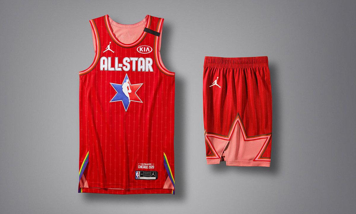 Jordan Brand 发布 NBA 2020 全明星球衣