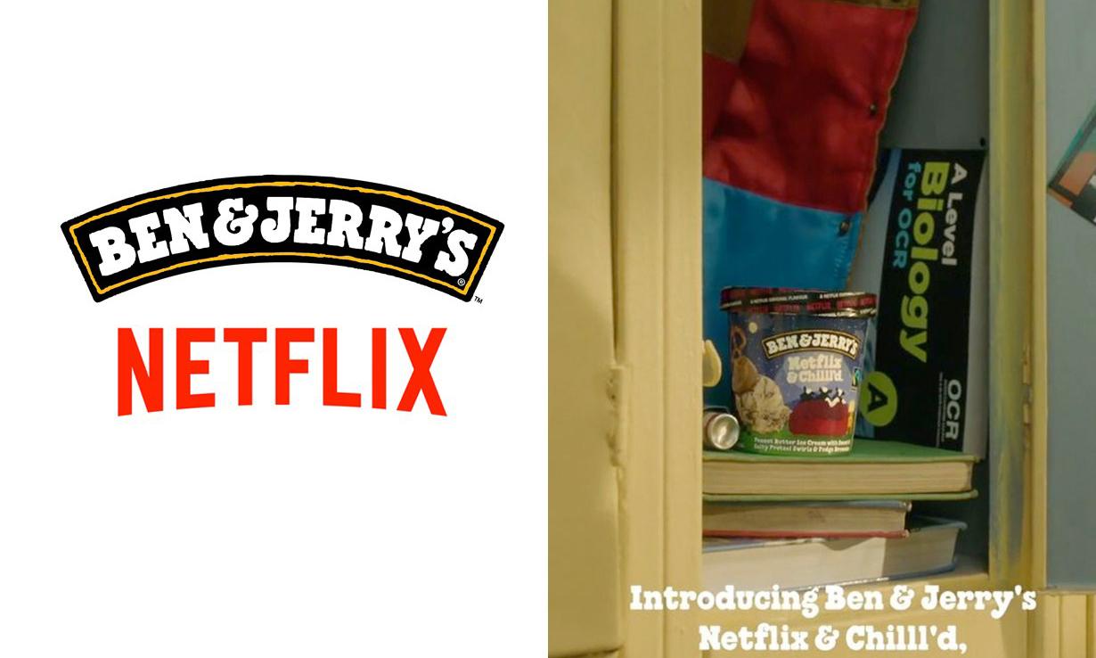 追剧肥宅必备?Neflix 与冰激凌品牌 Ben & Jerry's 合作推出限定口味