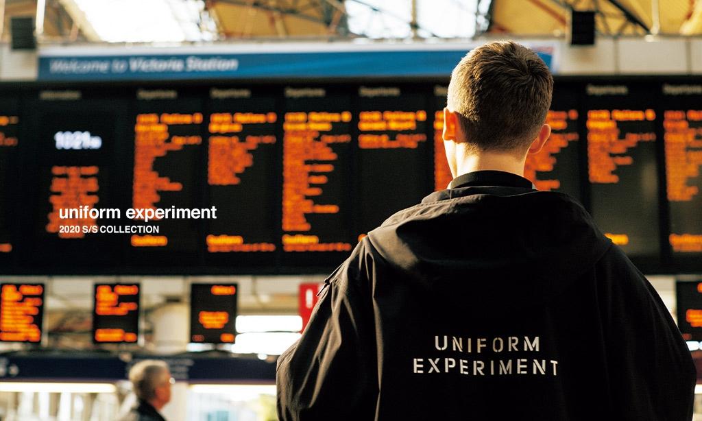 uniform experiment 2020 春夏系列 Lookbook 公开