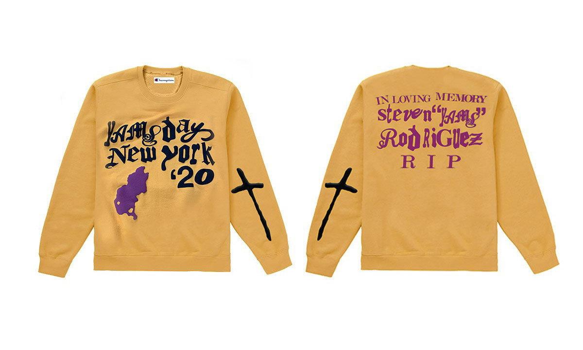 A$AP Mob 联手 CPFM、VLONE、Spider Worldwide 打造 Yams Day 周边单品