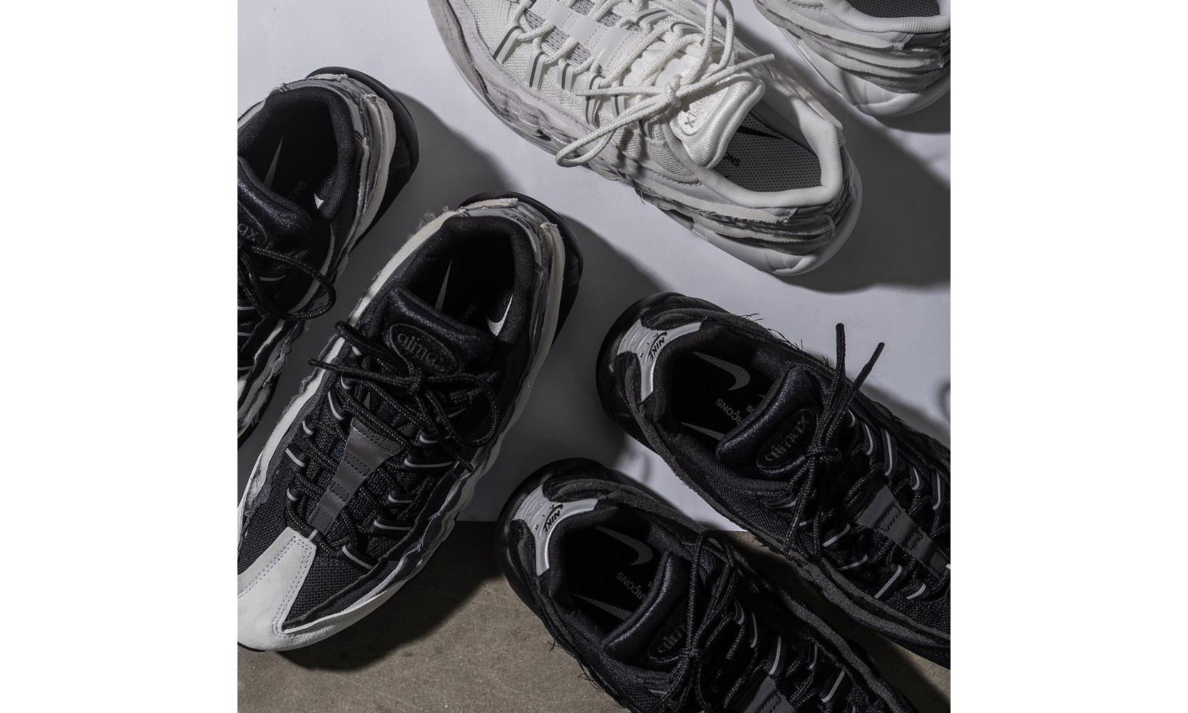 COMME des GARÇONS Homme Plus x Nike Air Max 95 再度迎来发售