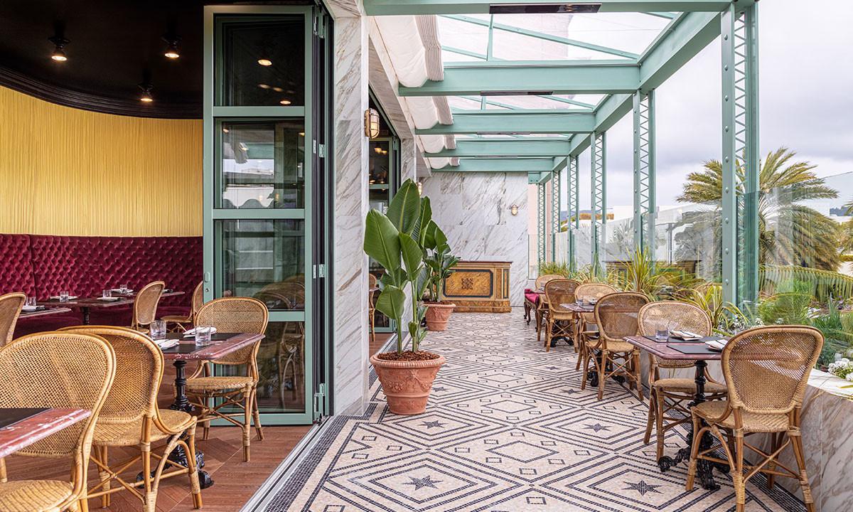 走进 GUCCI 比佛利山庄餐厅 GUCCI Osteria