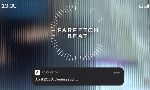 Farfetch 平台推出全新数字服务 Farfetch BEAT