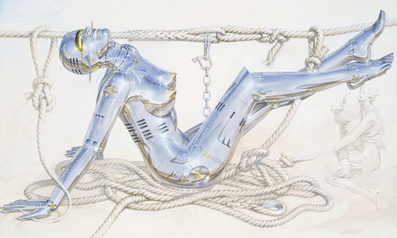 空山基两大全新个展将于 3 月亮相涩谷画廊