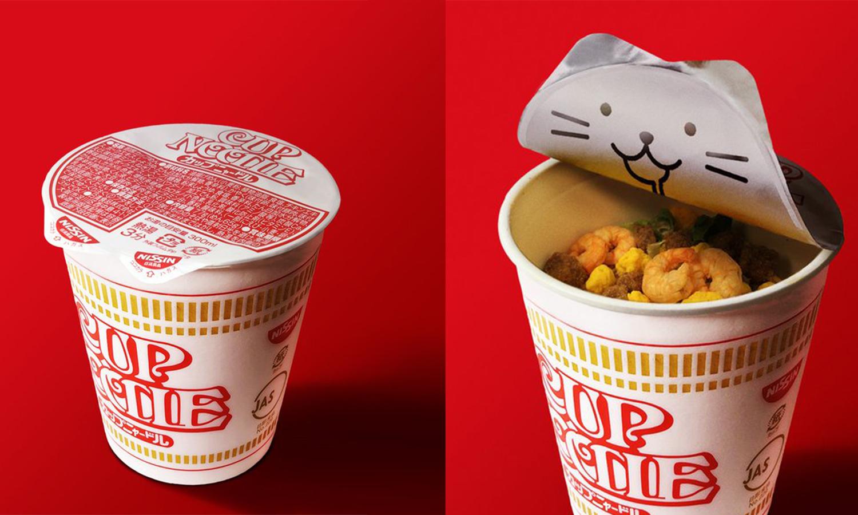 可爱至极,Nissin 日清推出「猫之日」限定速食面