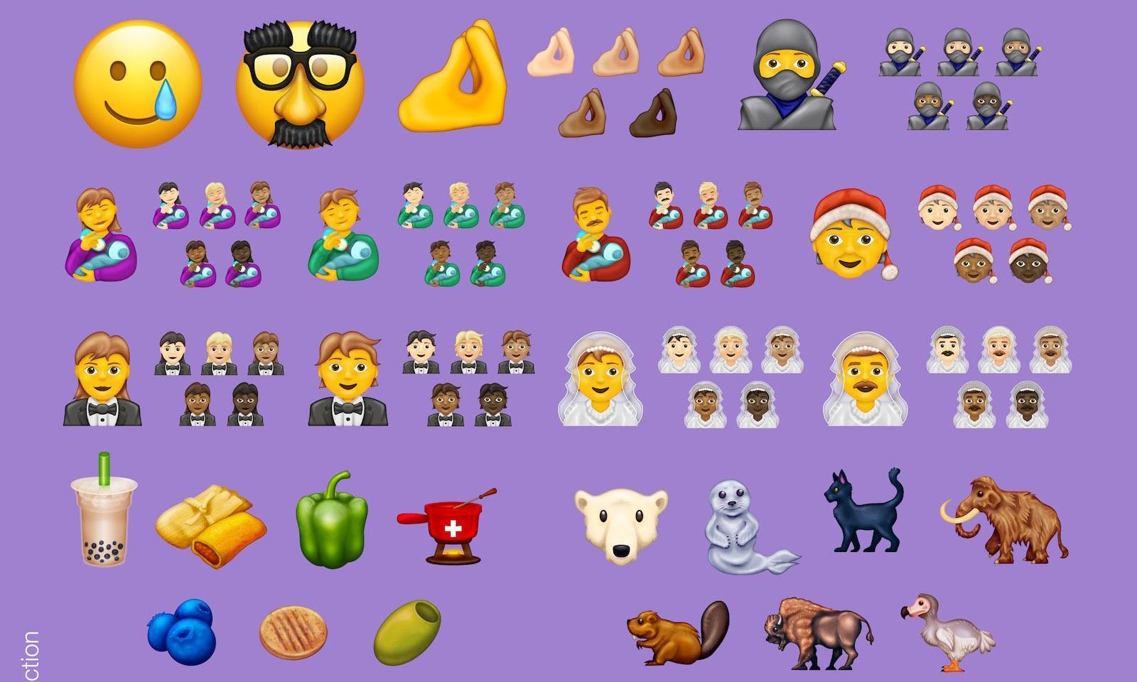 又有新图案,2020 年全新 emoji 抢先看