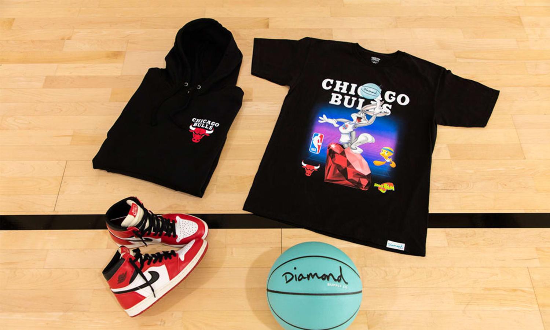 三方联名,Diamond Supply Co. x《Space Jam》x NBA 推出全明星联名系列