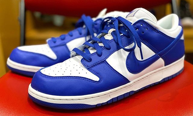 Nike Dunk Low「Kentucky」肯塔基大学配色释出