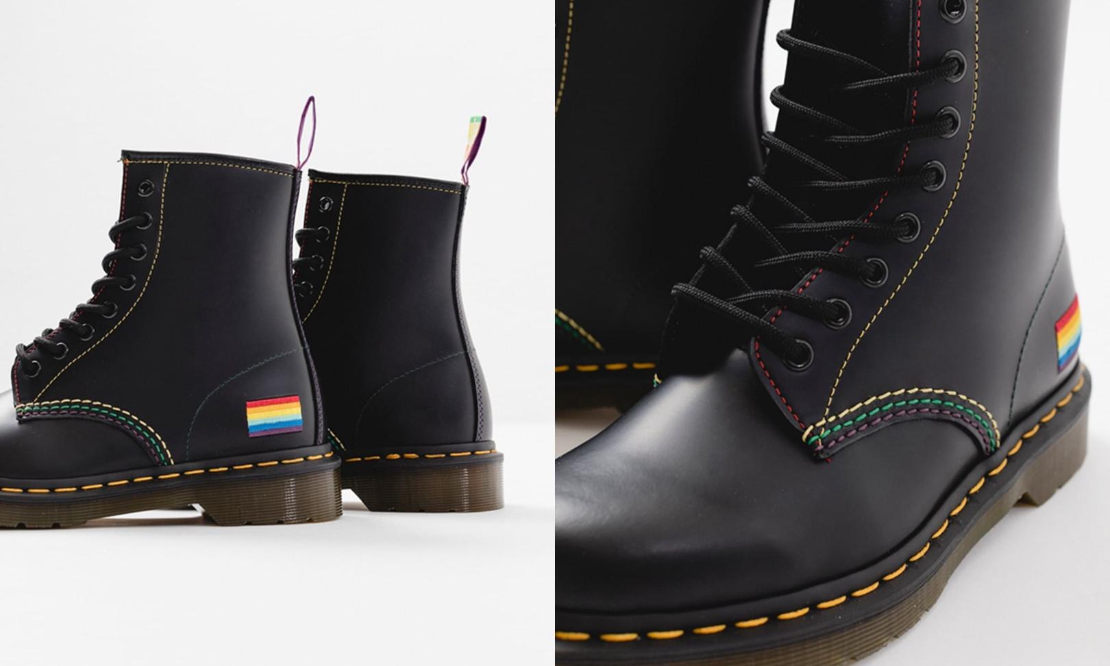Dr.Martens 1460「LGBTQ」特别设计首度亮相