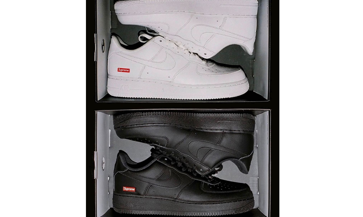 Supreme x Nike Air Force 1 发售信息公开