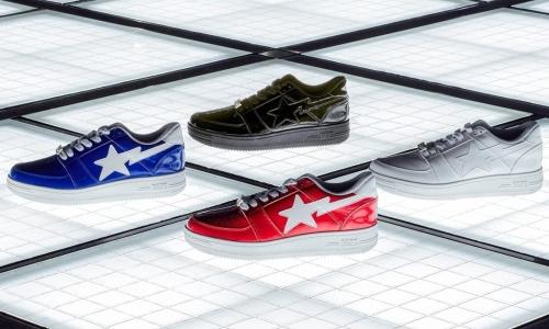 A BATHING APE® 将为 BAPESTA 带回漆皮鞋身设计