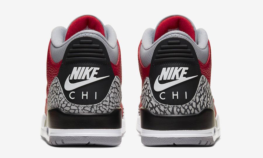 全明星限定,Air Jordan III SE「NIKE CHI」正式发布