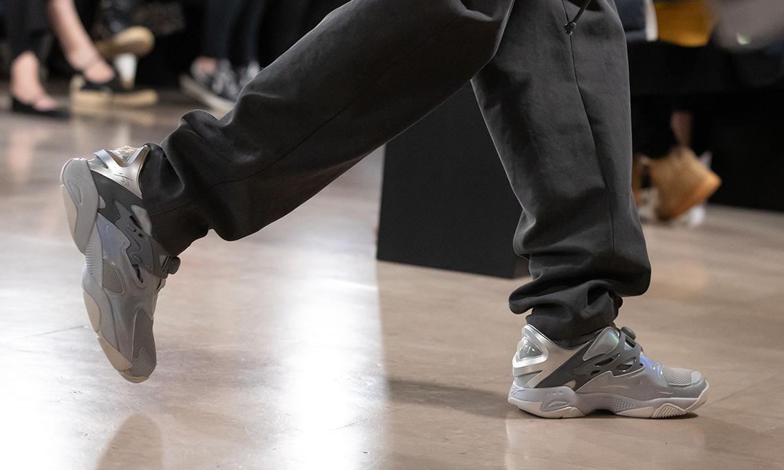 时装周成为 Reebok 曝光特殊球鞋的新途径?