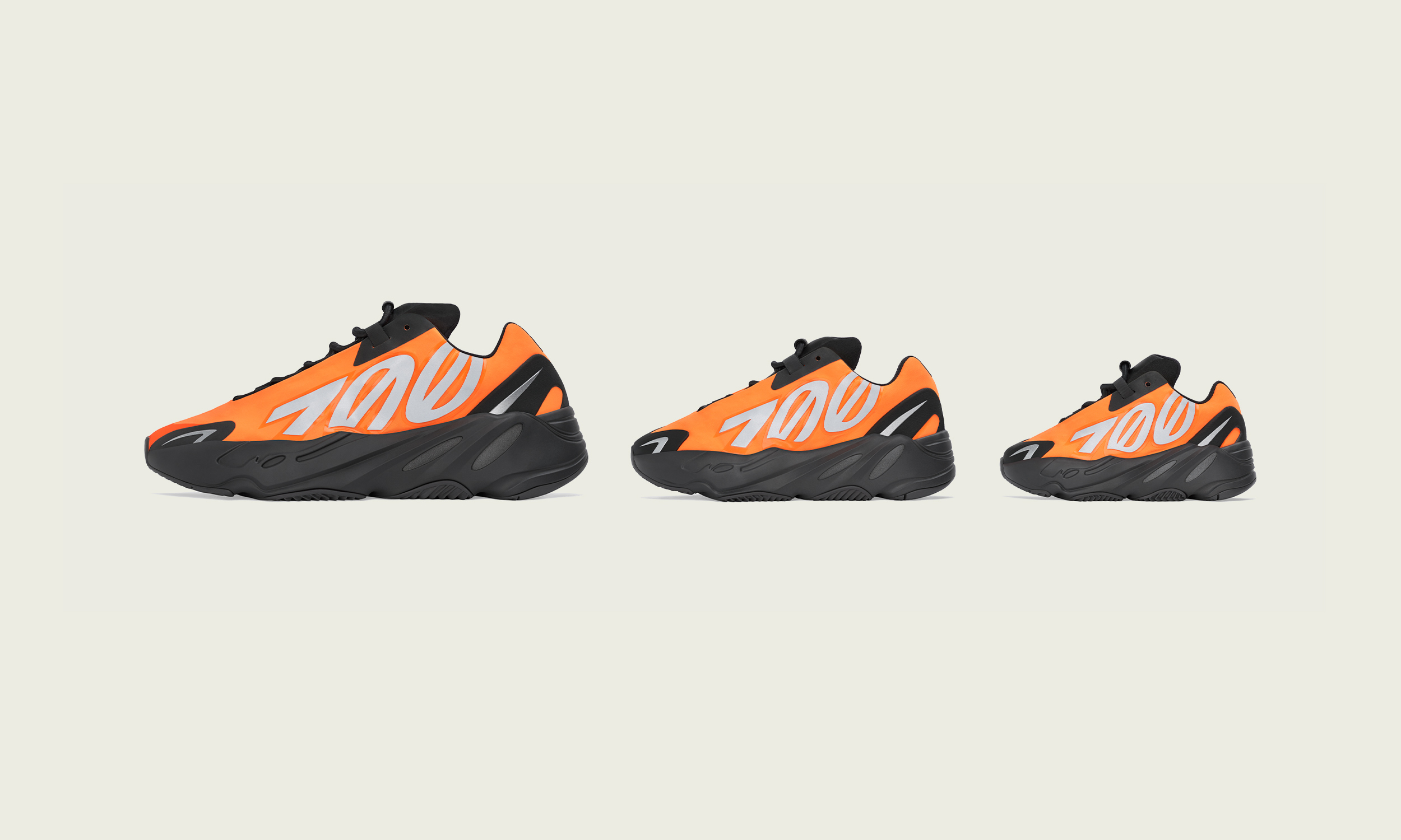 Yeezy Boost 700 MNVN「Orange」国内发售信息公开