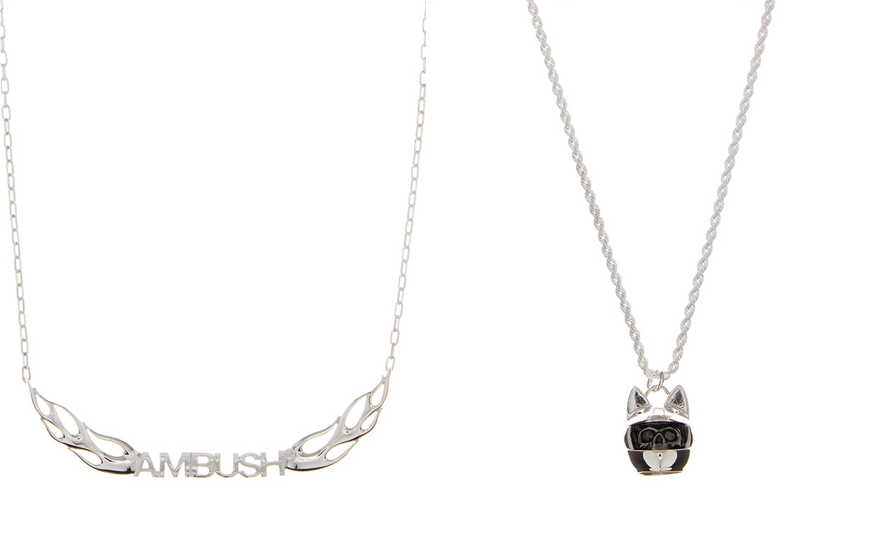AMBUSH 带来全新纯银首饰系列