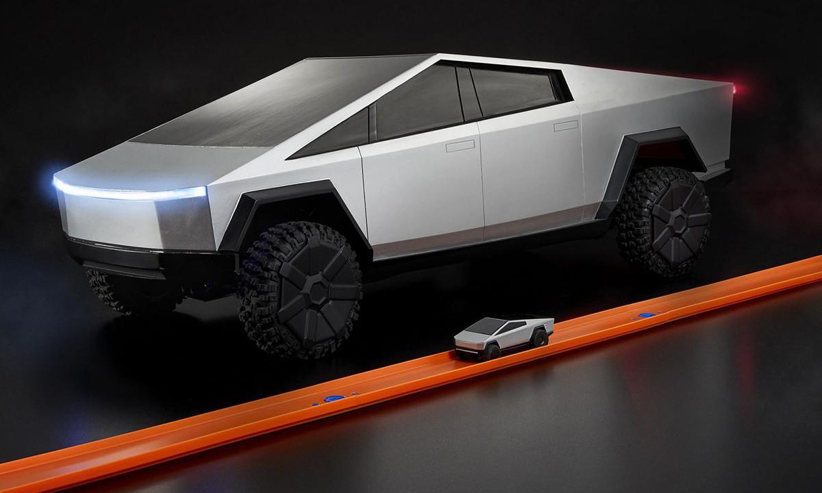 Hot Wheels 出品的 Tesla Cybertruck,「仅售」 400 美元