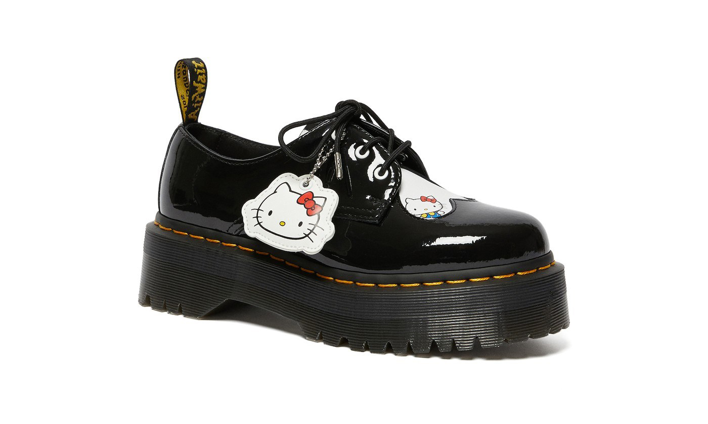 Hello Kitty x Dr. Martens 联乘鞋款即将发售
