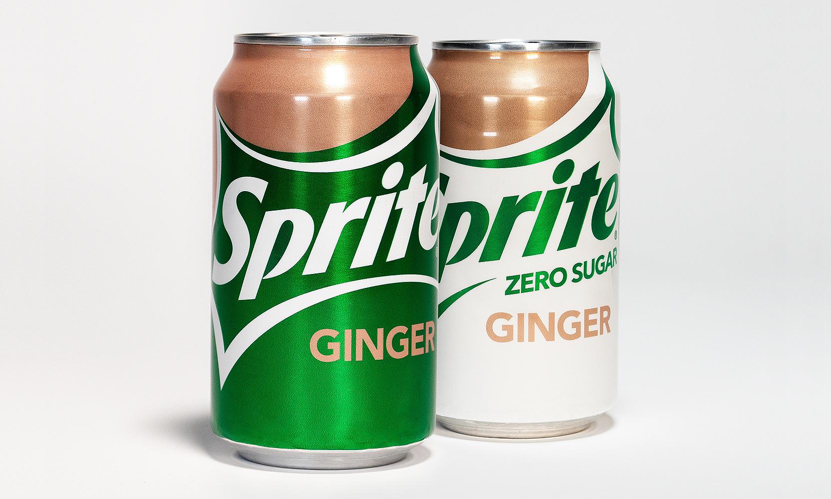 可口可乐公司推出全新 Sprite Ginger 口味饮料
