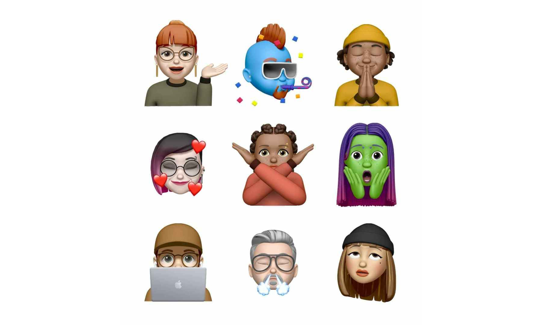 Apple iOS 13.4 推出全新 Memoji 表情