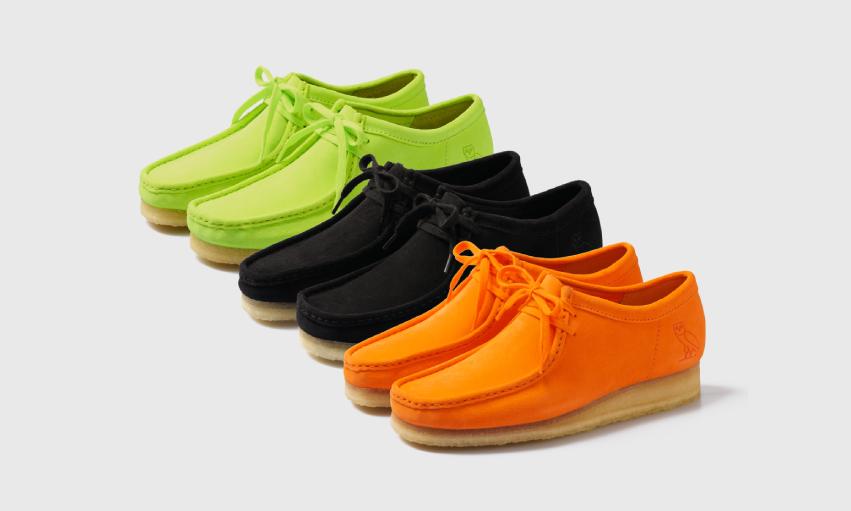 OVO x Clarks Originals 推出全新联乘鞋履系列