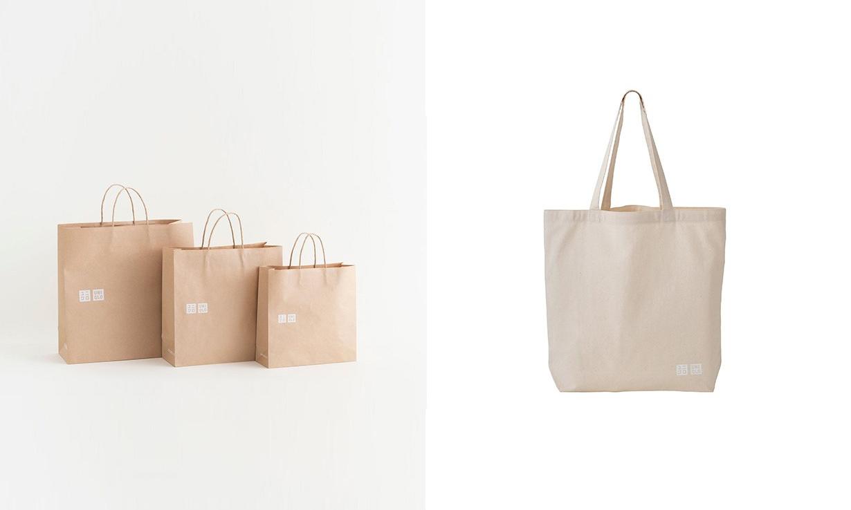 同步推出环保帆布袋,Uniqlo 普通购物袋或将收费