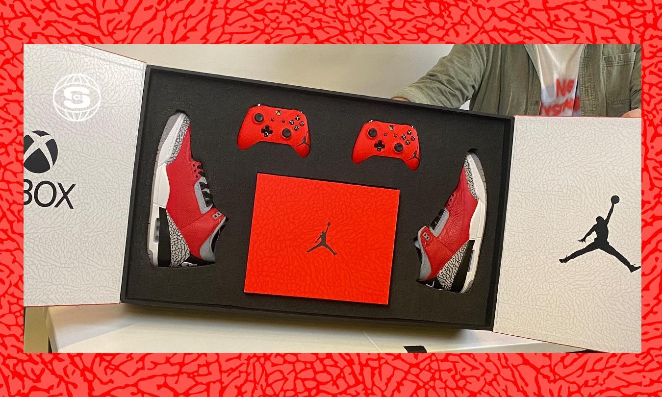 Xbox x Jordan Brand 全新联名礼盒内容公开
