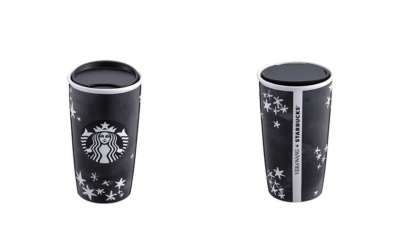 Starbucks 与 Vera Wang 展开联名,时尚款随身杯即将发售