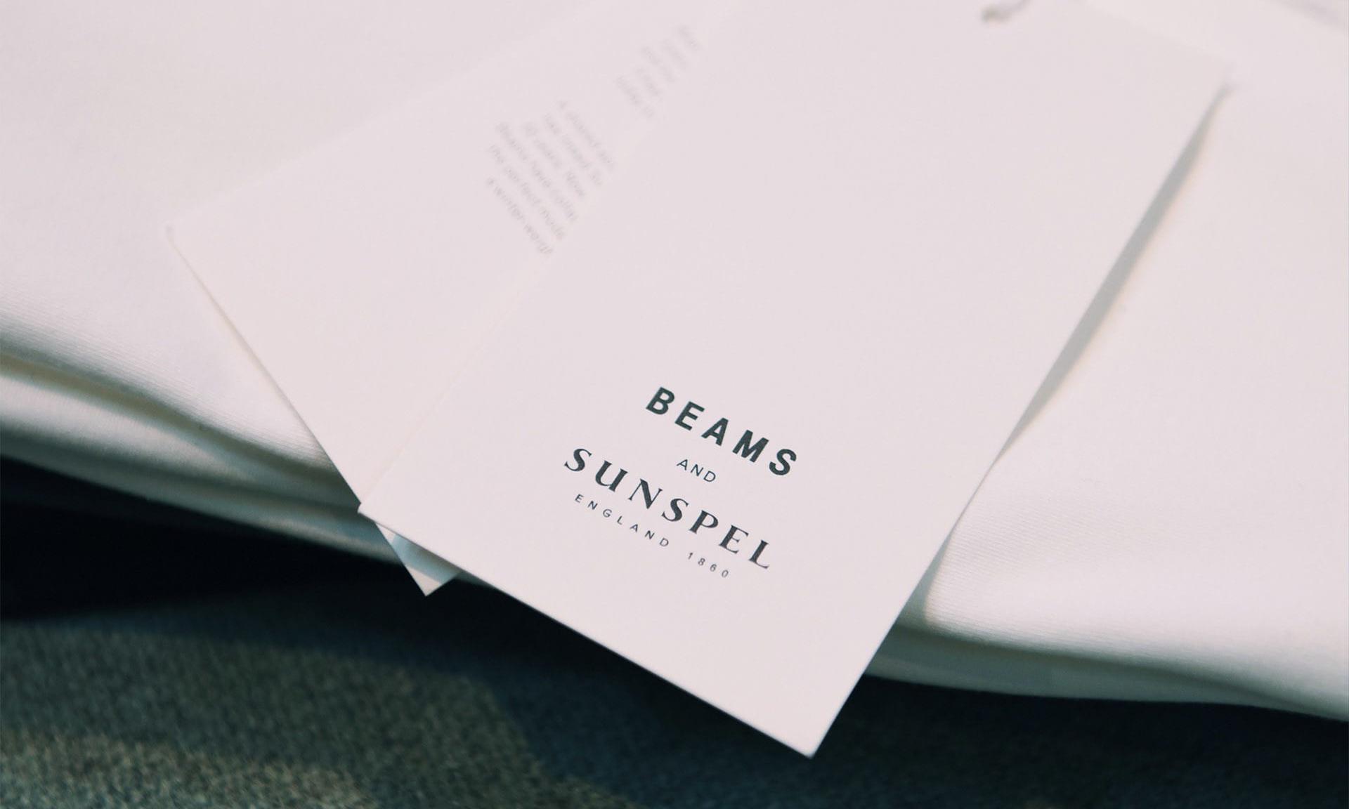 BEAMS 与 Sanspell 首次合作带来限定 T 恤单品