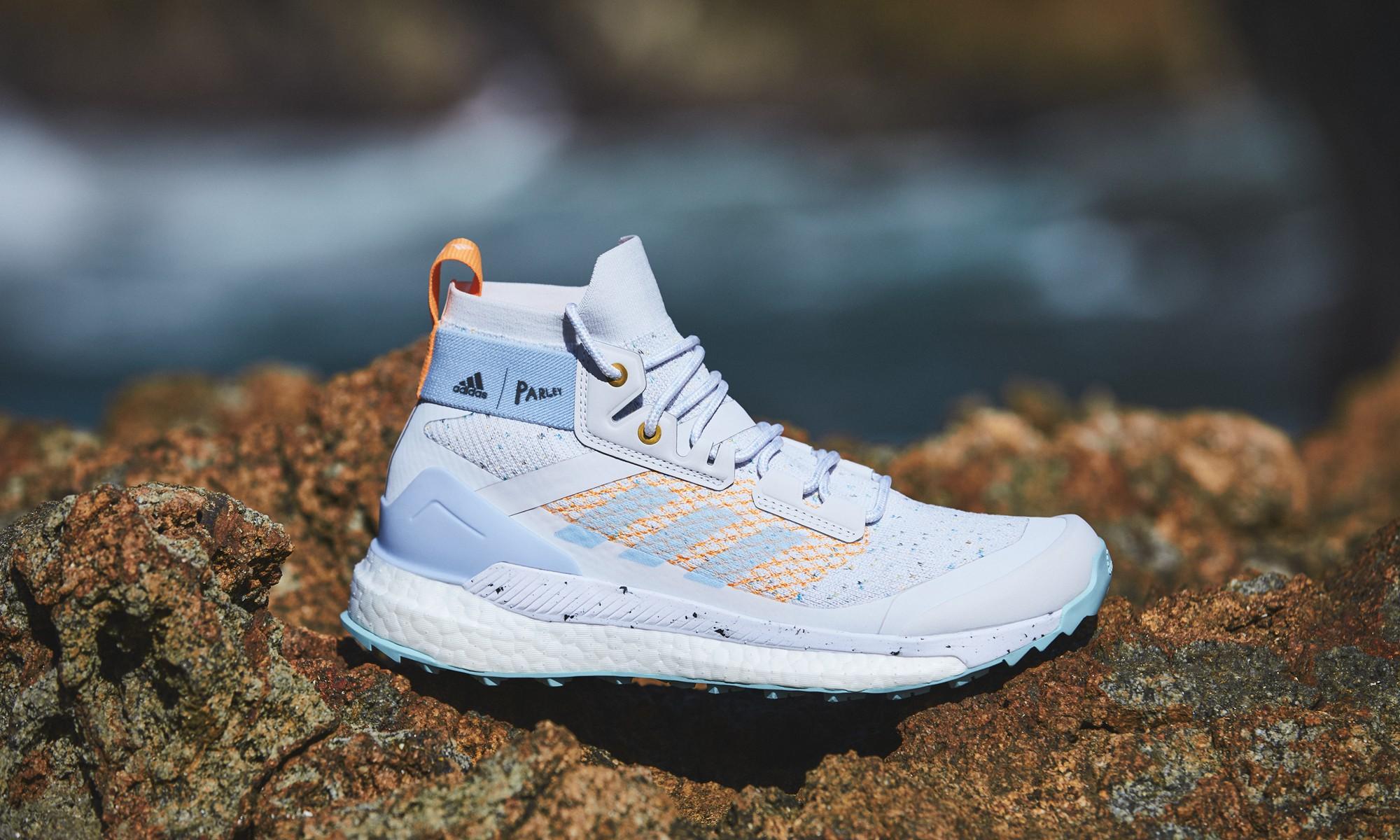 adidas TERREX Free Hiker Parley 海洋再生徒步鞋正式登场