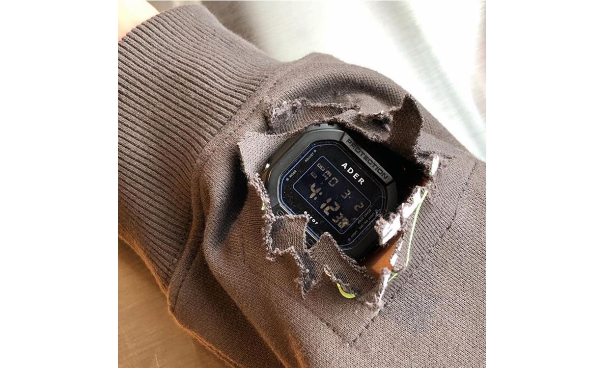 ADER Error 曝光与 G-SHOCK 合作腕表设计