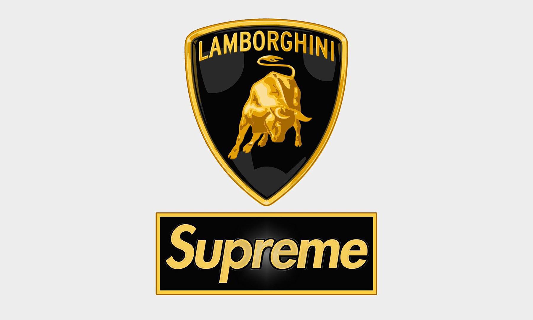 兰博基尼 x Supreme 联名系列即将公开