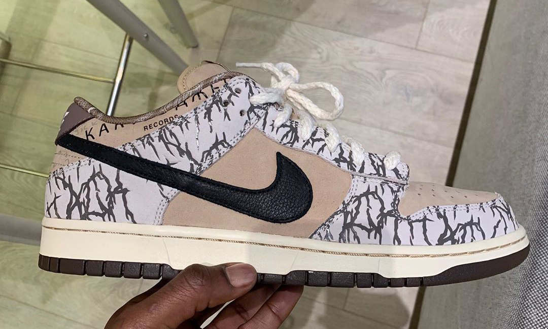 Travis Scott 分享 TS x Nike SB Dunk Low 初期 Sample