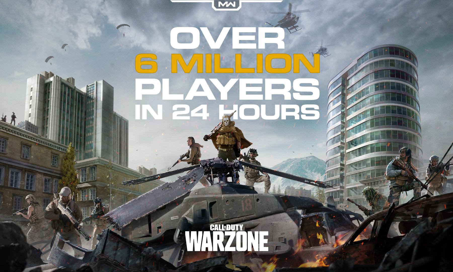《使命召唤 16》吃鸡模式大火, 一天收获超 600 万玩家