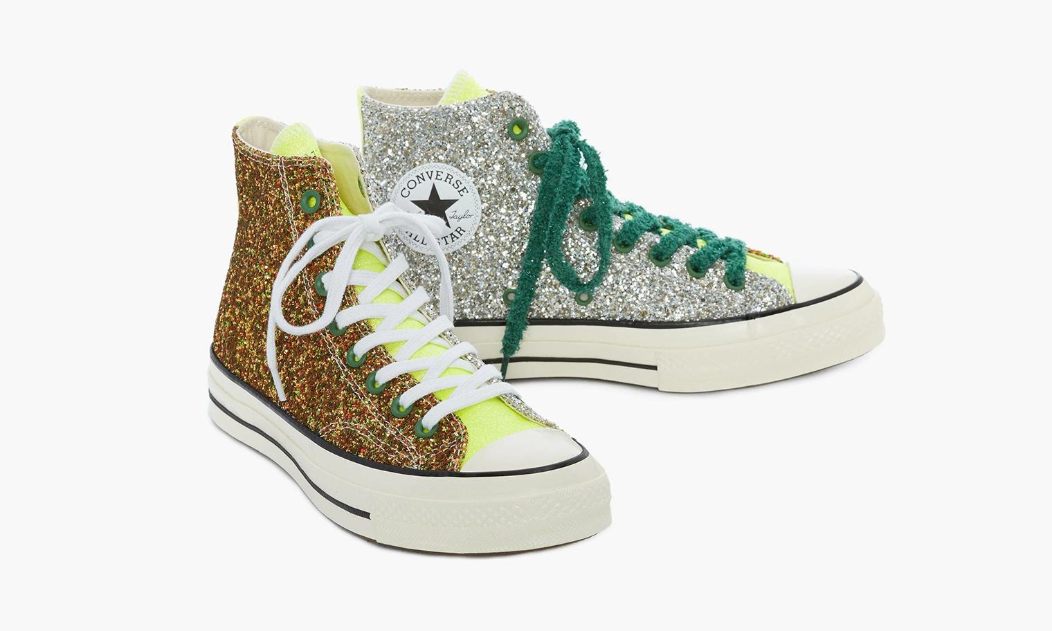 JW Anderson x Converse「Glitter Chuck Taylor」联名球鞋即将开启抽签发售