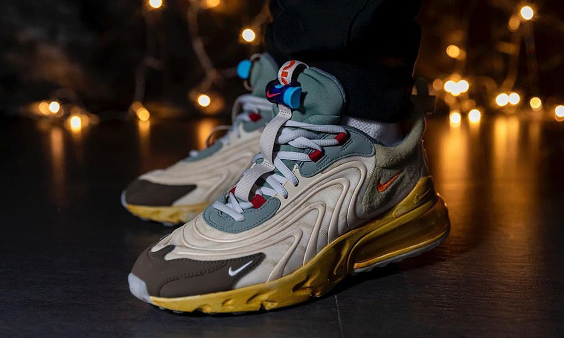 Travis Scott x Nike Air Max 270 React 发售日期初步确定