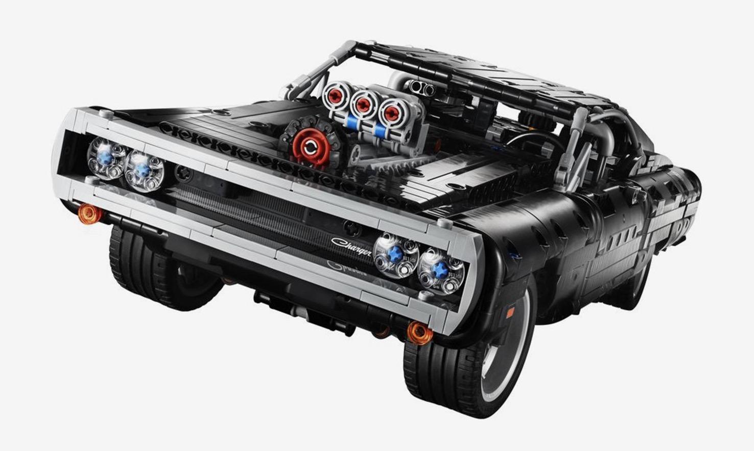LEGO 发布全新「Dodge Charger」汽车模型