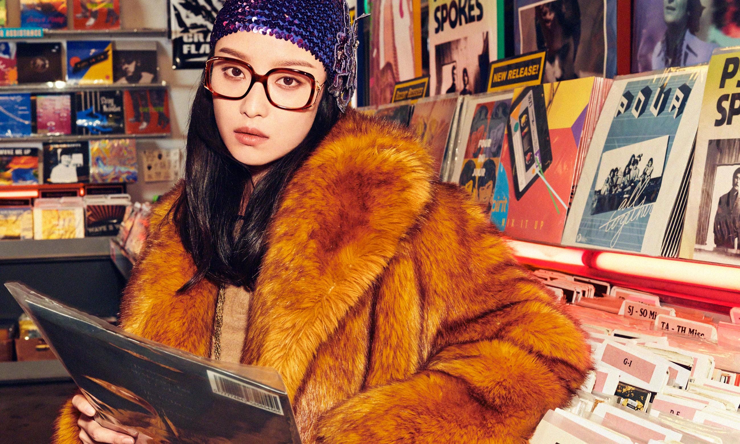 唱片店的故事,GUCCI 2020 春夏眼镜广告形象大片释出