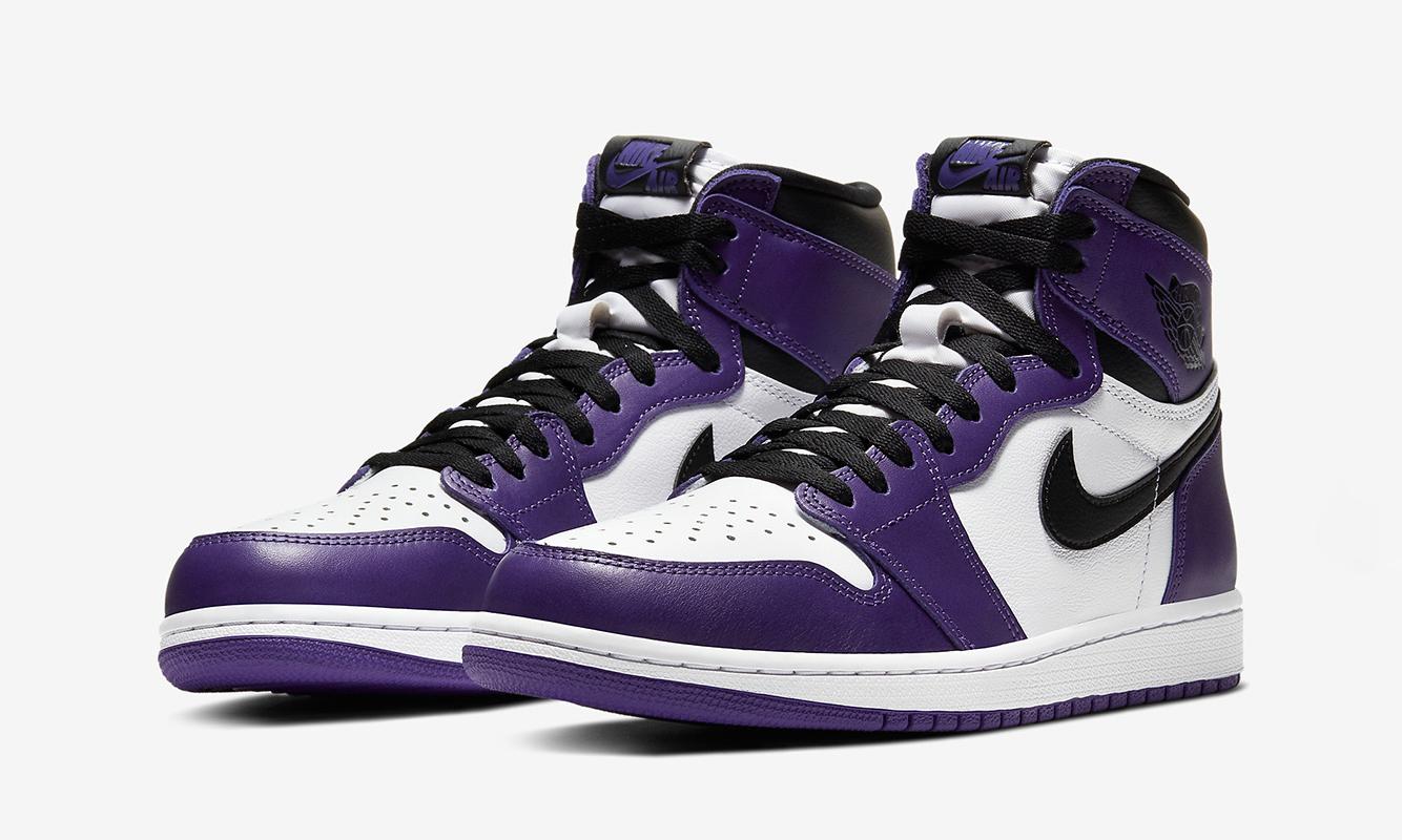 Air Jordan I「Court Purple」定于 4 月 4 日正式发售