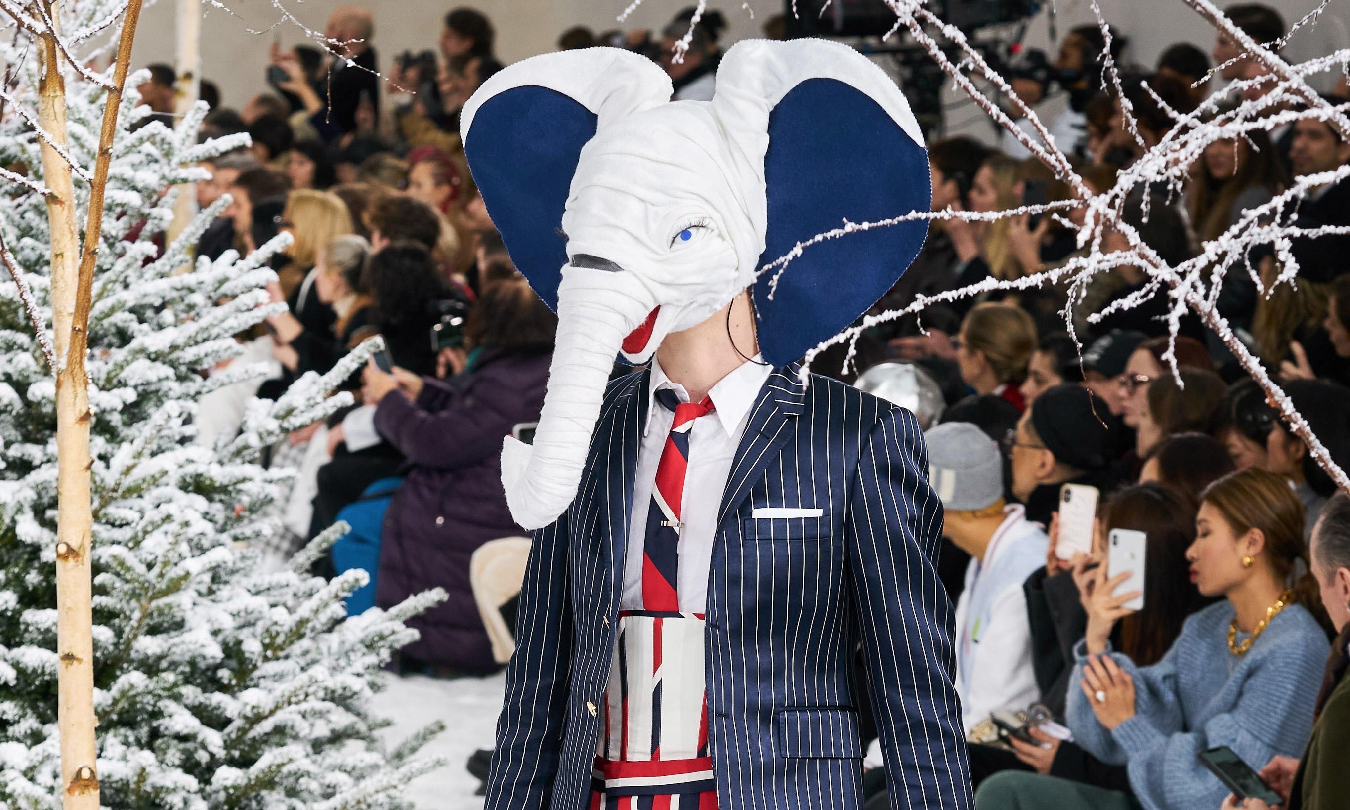 成双入对的奇幻世界,Thom Browne 2020 秋冬秀场回顾