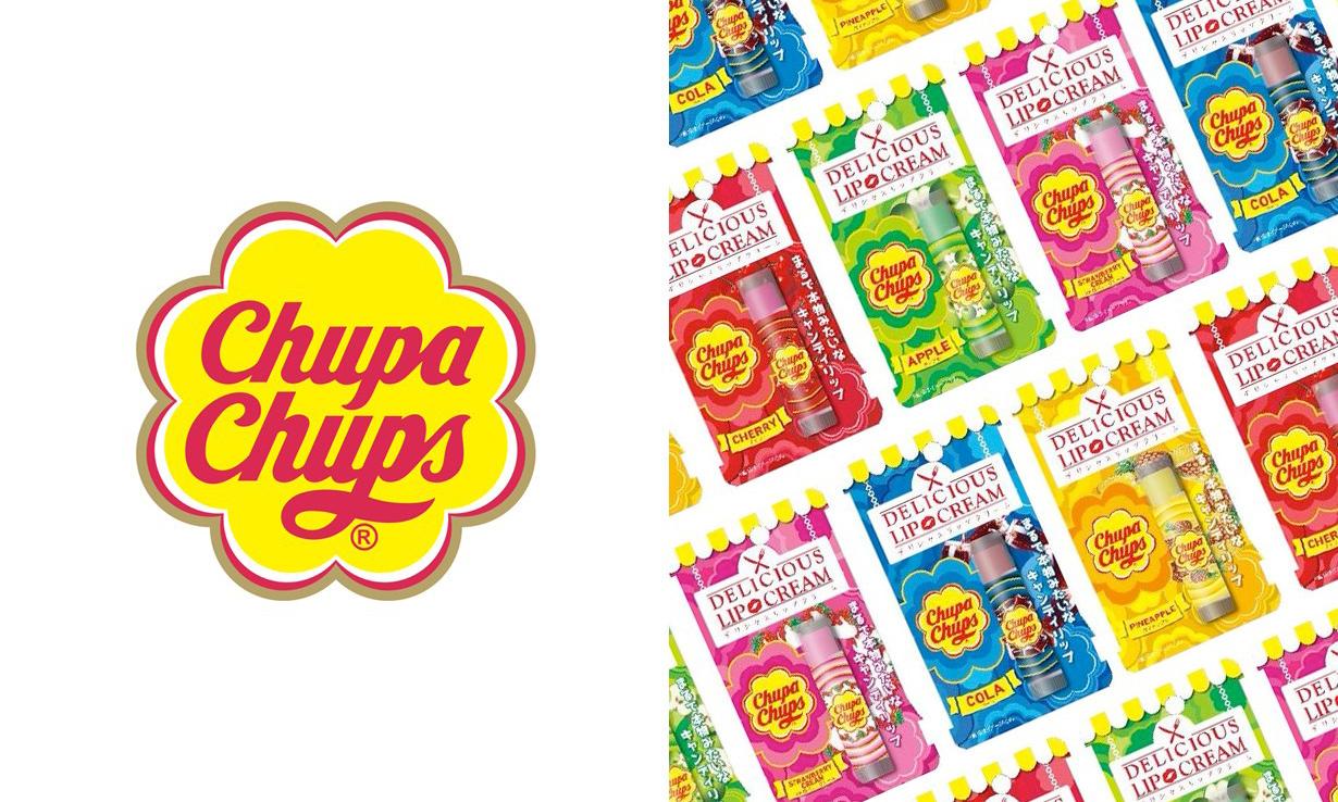 童年回忆,Chupa Chups 推出联名款棒棒糖护唇膏