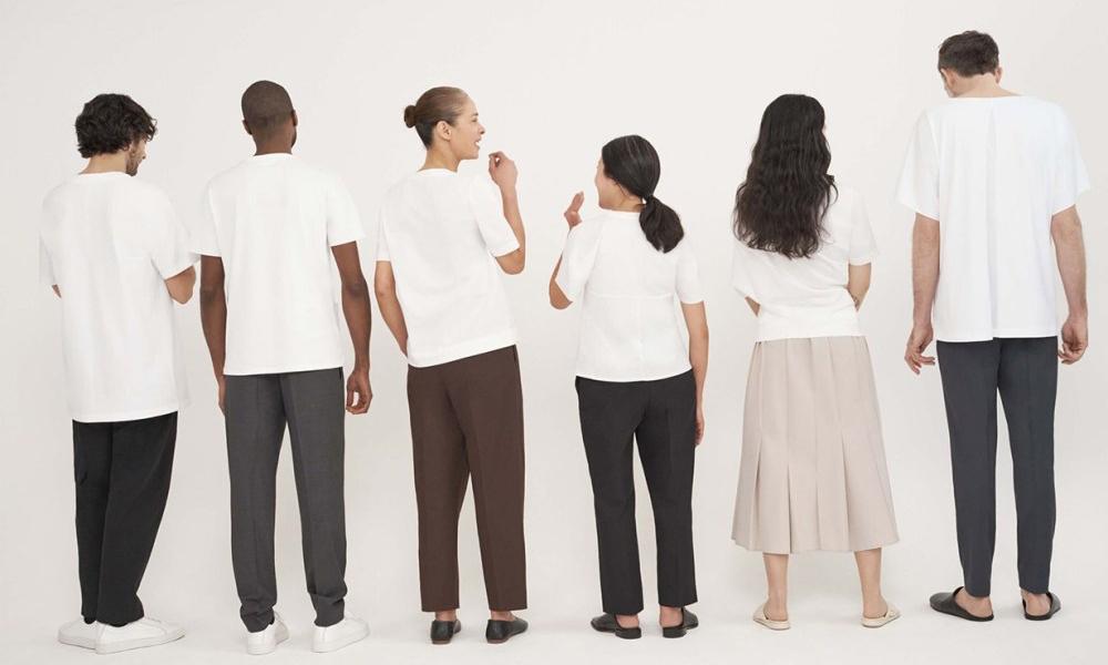 丰富的质感与细节,COS 推出纯白 T-Shirt 系列
