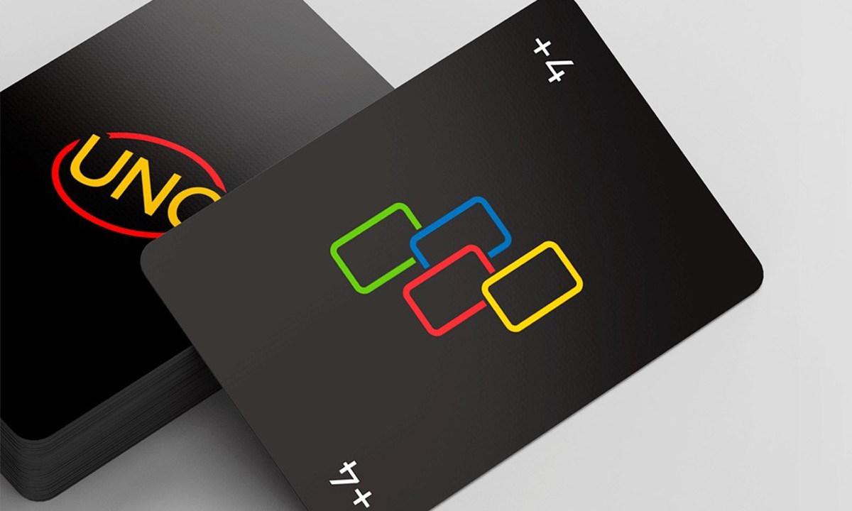 Mattel 游戏公司推出官方极简暗黑版本 UNO
