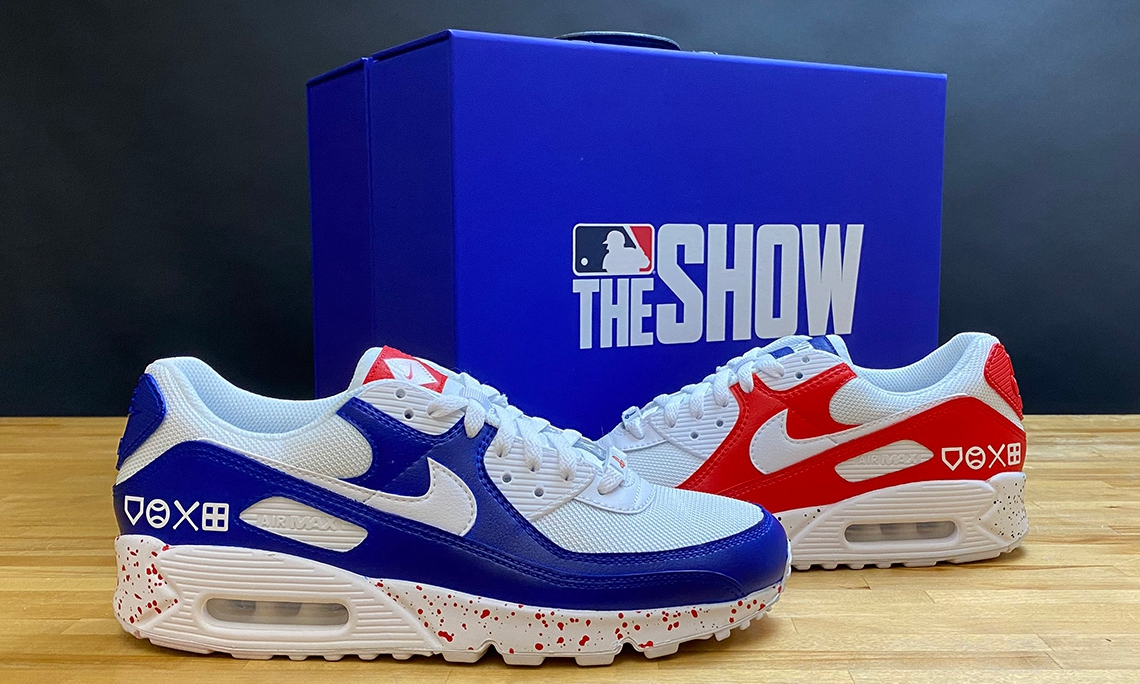 《MLB The Show 20》限定 Nike Air Max 90 鞋款首度公开