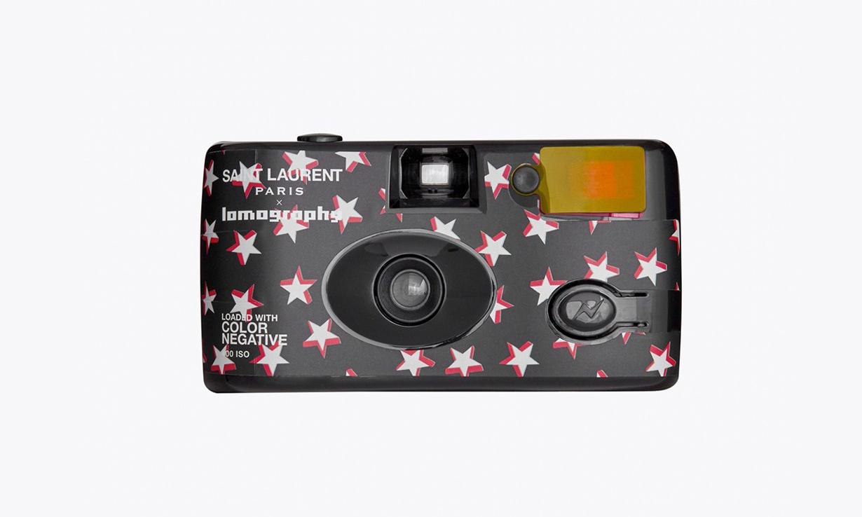 Saint Laurent x Lomography 联名款可重复使用菲林相机发售