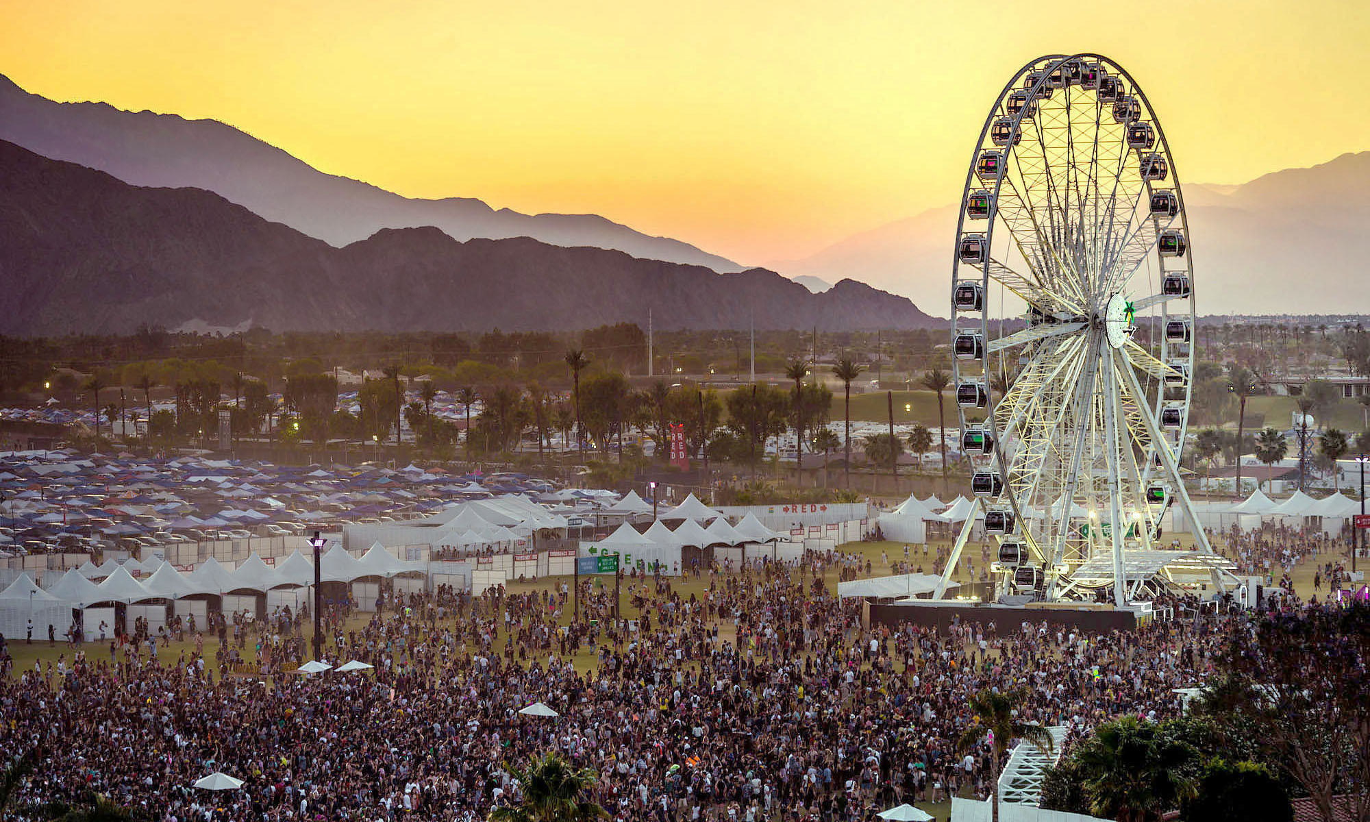 Coachella 纪录片《Coachella: 20 Years in the Desert》释出正式预告片