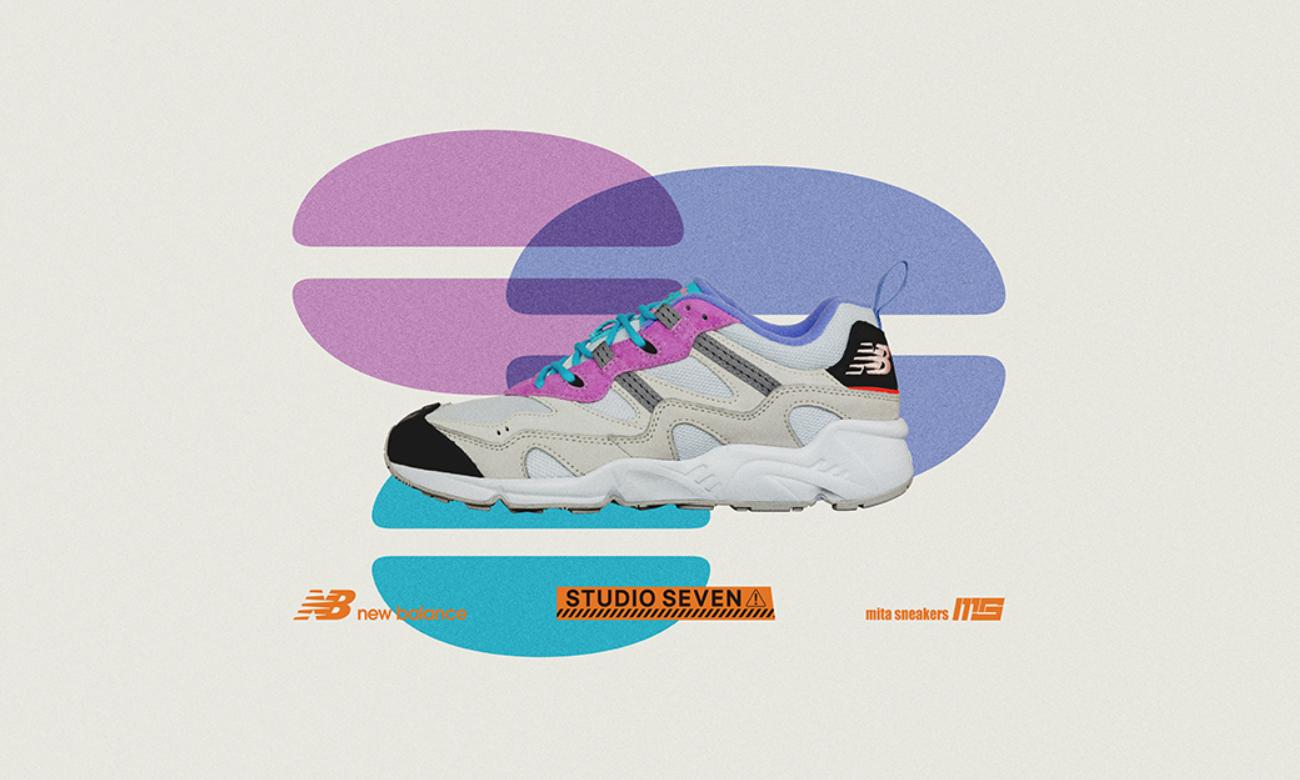 New Balance x STUDIO SEVEN x mita sneakers 三方联名系列即将发售