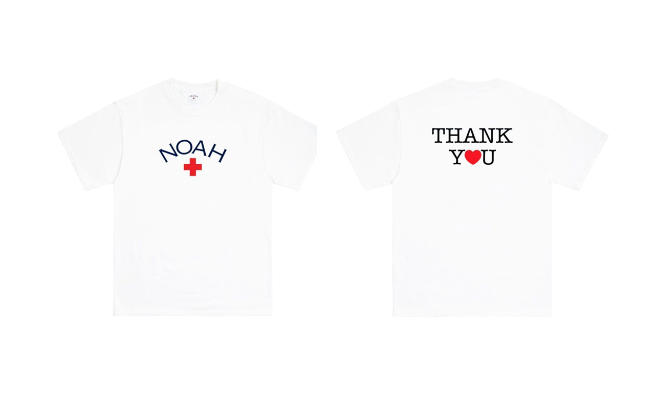 NOAH 全新「Thank You」Logo T恤即将登场