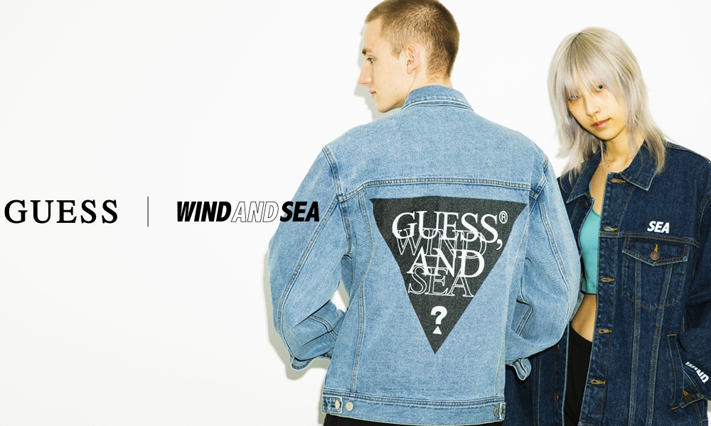 GUESS x WIND AND SEA 合作系列即将登场